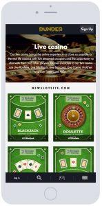 Dunder Casino iPhone 148x300 - Dunder