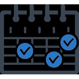Free spins schedule